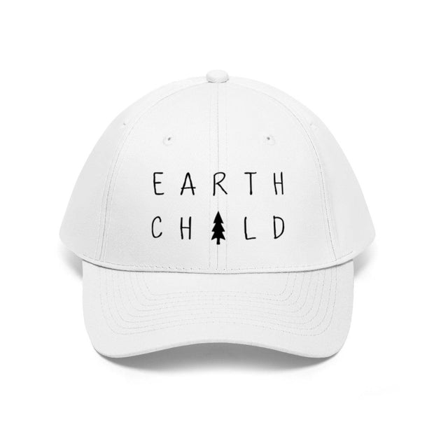 Earth Child Hat Hats Printify White One size