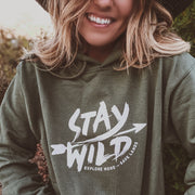 Stay Wild Hoodie 18500 Lands