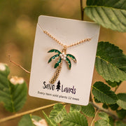 Palm Tree Necklace Jewelry Lands