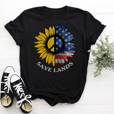 American Sunflower Tee