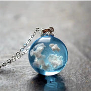 Blue Skies Necklace Jewelry Lands