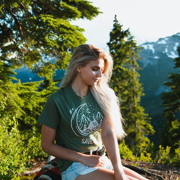Save Lands Cabin Tee