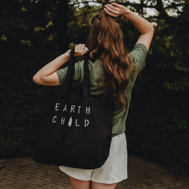 Earth Child Tote Bag Q600 Lands