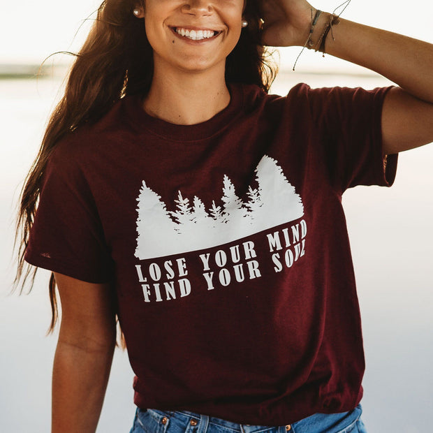 Lose Your Mind Find Your Soul Tee 5000 Lands