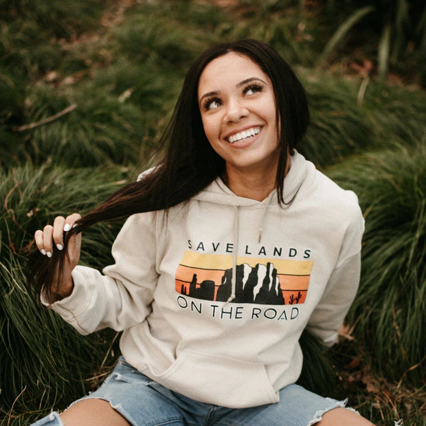 On The Road Hoodie Hoodie Lands Sand L
