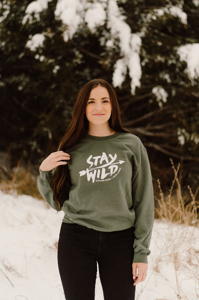 Stay Wild Crewneck 18000 Lands