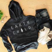 Earth Child Hoodie Hoodie Printify Black L