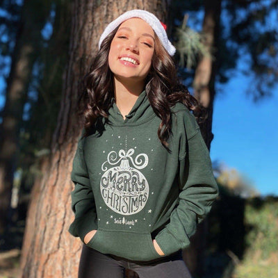 Forest Silver Ornament Hoodie 18500 Lands
