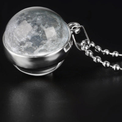 Moon Necklace Jewelry Lands Full Moon