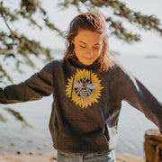 Save The Bee's Sunflower Hoodie Hoodie Printify