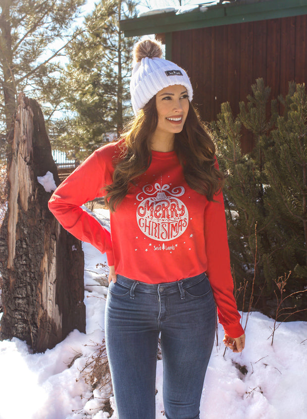 Red Silver Ornament Long Sleeve 2400 Lands