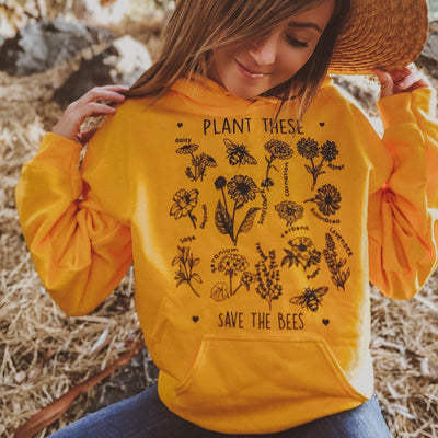 Plant these hoodie 18500 Lands