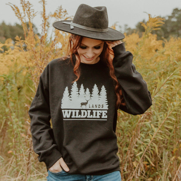 Wildlife Crewneck 18000 Lands