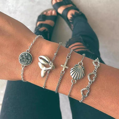 Save The Seas Bracelet Set Lands