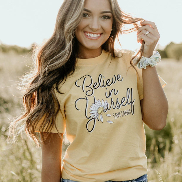 Believe In Yourself Tee 5000 Lands Daisy S