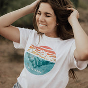Mountain Reflection Tee 5000 Lands White S