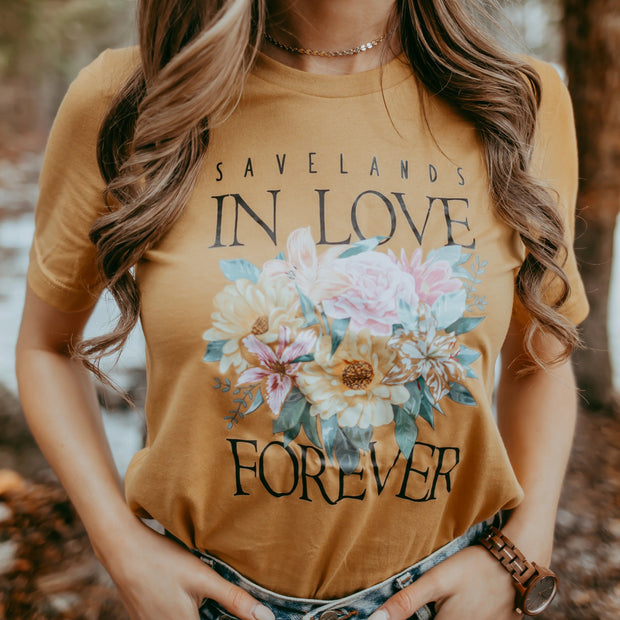 In Love Forever Tee T-Shirt Lands