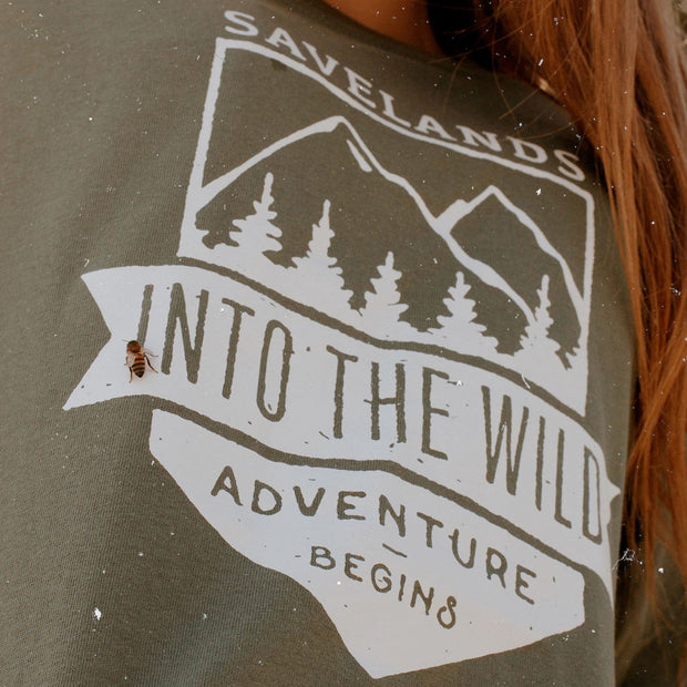 Into The Wild Long Sleeve Long-sleeve Lands