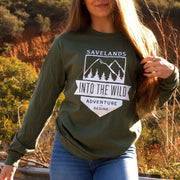 Into The Wild Long Sleeve Long-sleeve Lands Military Green L