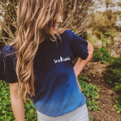 Simple Save Lands Royal Ombre Tee 1370 OMBRE ROYAL Lands S Royal Ombre