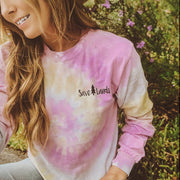 Simple Desert Rose Tie Dye Long Sleeve 2000 DESERT ROSE Lands S
