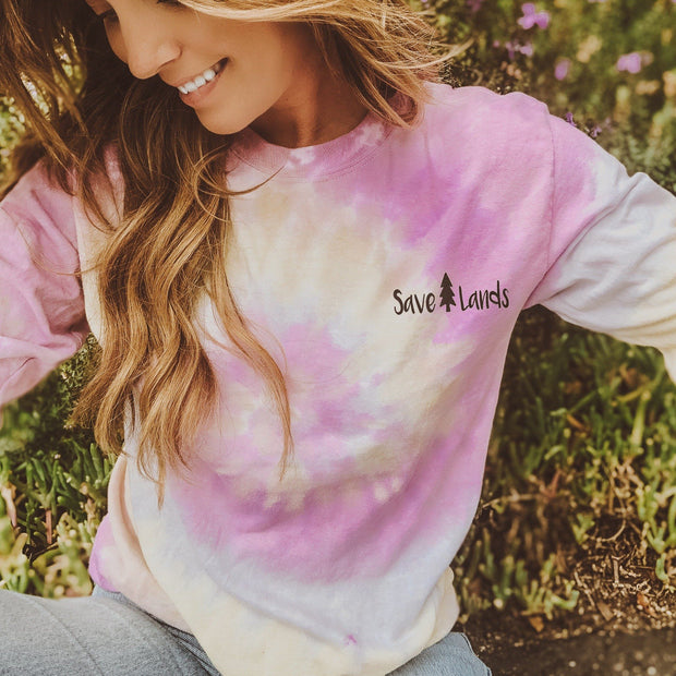 Simple Desert Rose Tie Dye Long Sleeve 2000 DESERT ROSE Lands