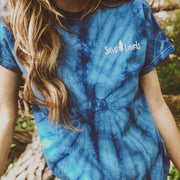 Simple Save Lands Royal Tie Dye Tee 1000 SPIDER ROYAL Lands