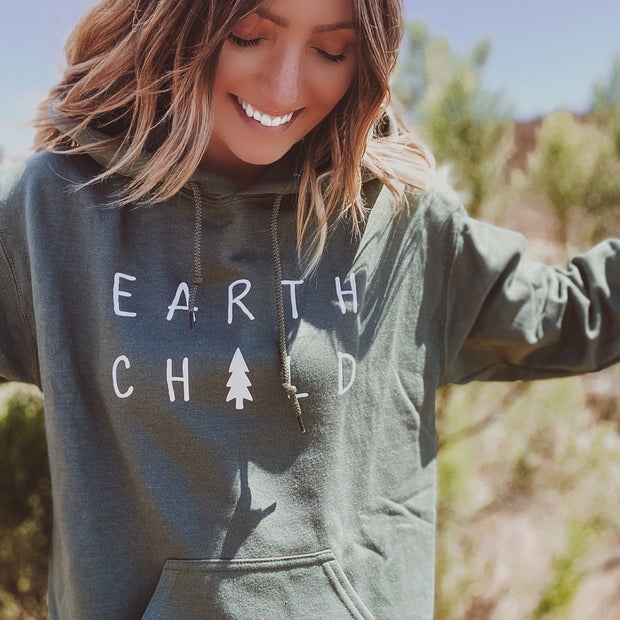 Earth Child Hoodie 18500 Lands