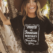 Tennessee Whiskey Tee 5000 Lands Black S