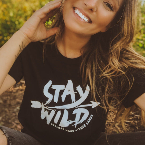 Stay Wild Tee 5000 Lands