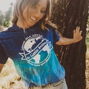 Better World Blue Sky Tie Dye Tee 1000 BLUE SKY Lands