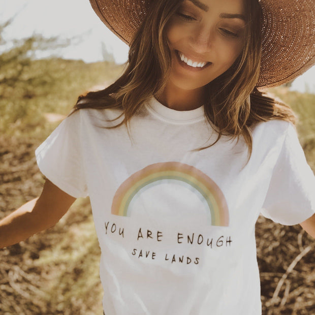 You Are Enough Tee 5000 Lands