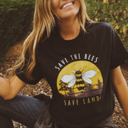 Vintage Save the Bees Tee 5000 Lands