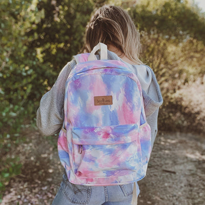 Pink Tie Dye Backpack BACKPACK Lands