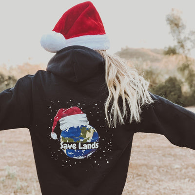 Christmas Planet Hoodie (Back Print) 18500 Lands