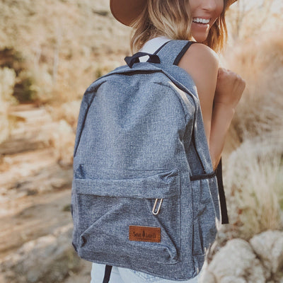 Dark Heather Backpack BACKPACK Lands