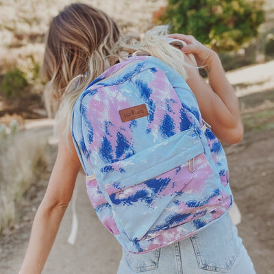 Blue Tie Dye Backpack BACKPACK Lands