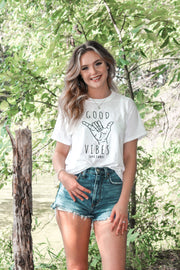 Shaka Good Vibes Tee 5000 Lands