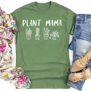Plant Mama Tee 5000 Lands Military Green L