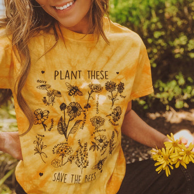 Plant These Gold Tie Dye Tee Tie Dye Lands S