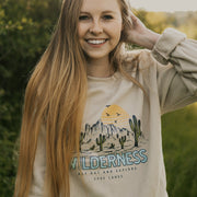 Wilderness Crewneck 18000 Lands Sand S