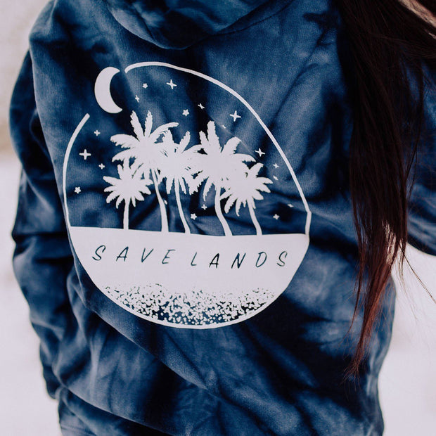 Save Lands Cool Palm Coin Hoodie Lands S