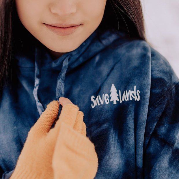Save Lands Cool Palm Coin Hoodie Lands