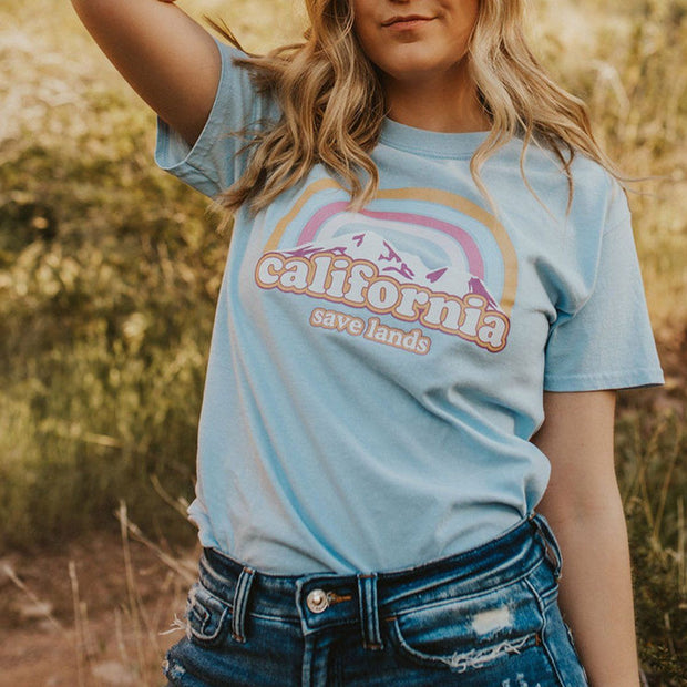 Cotton Candy Cali Tee 5000 Lands
