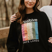 Think Positive Crewneck Sweatshirt 18000 Lands