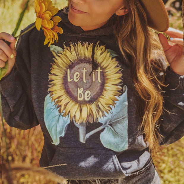 Let It Be Hoodie Hoodie Printify