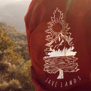 Tree Scene Long Sleeve Long-sleeve Lands