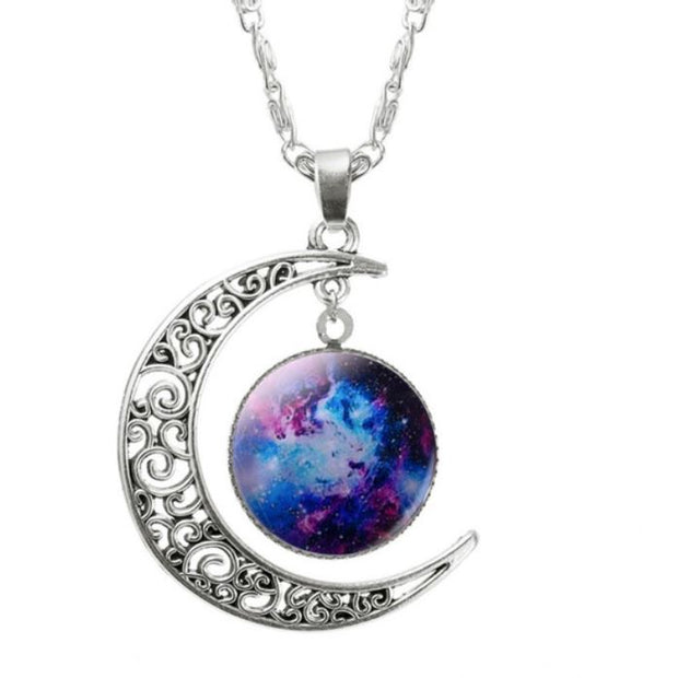 Nebula Necklace Jewelry Lands Galaxy