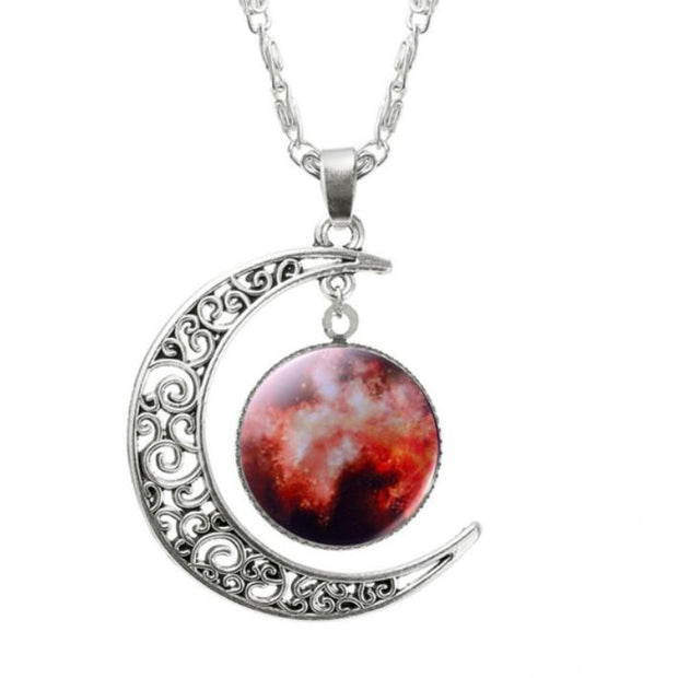 Nebula Necklace Jewelry Lands Cosmos