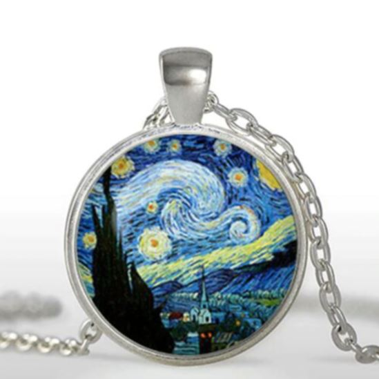 Starry Night Necklace Jewelry Lands